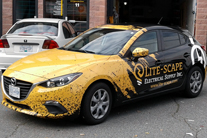 Full printed wrap,  car graphics Burnaby, Vancouver area