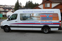 Partial Van Wrap car graphics Burnaby, Vancouver area